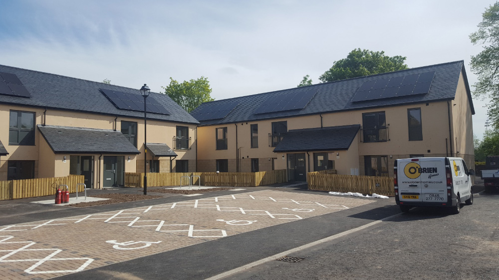 New council homes in Dingwall handed over - Scottish Housing