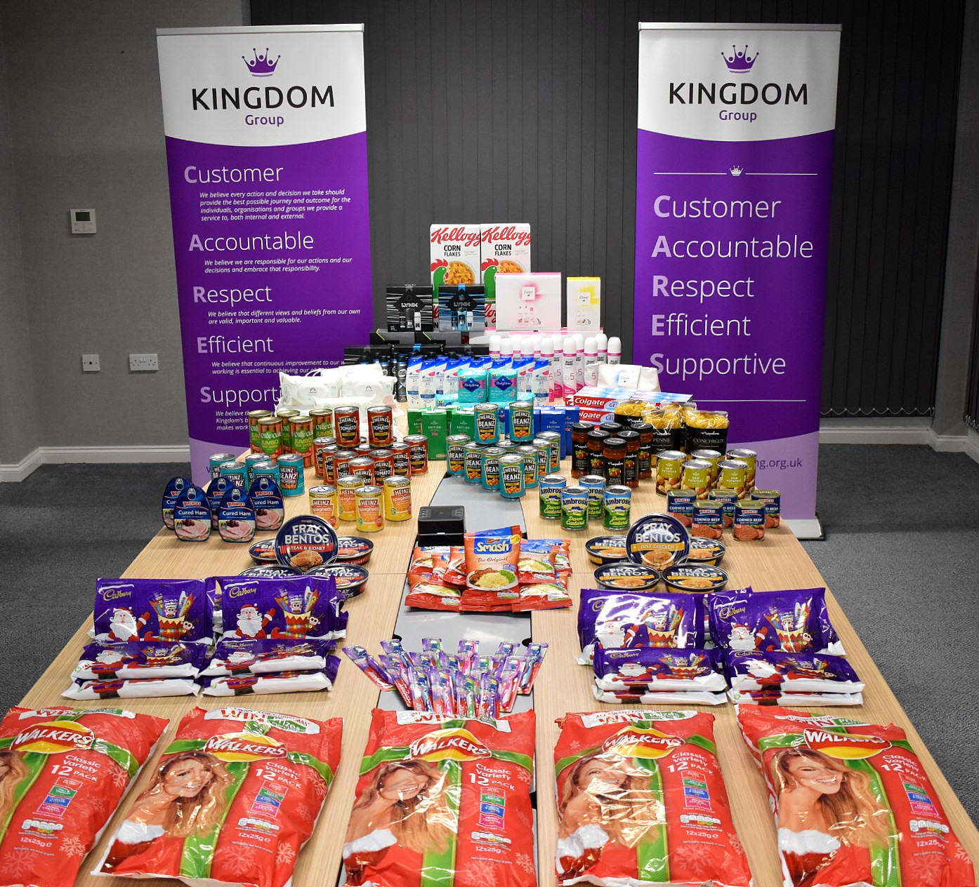 Kingdom Delivers Festive Cheer Across The Central Belt