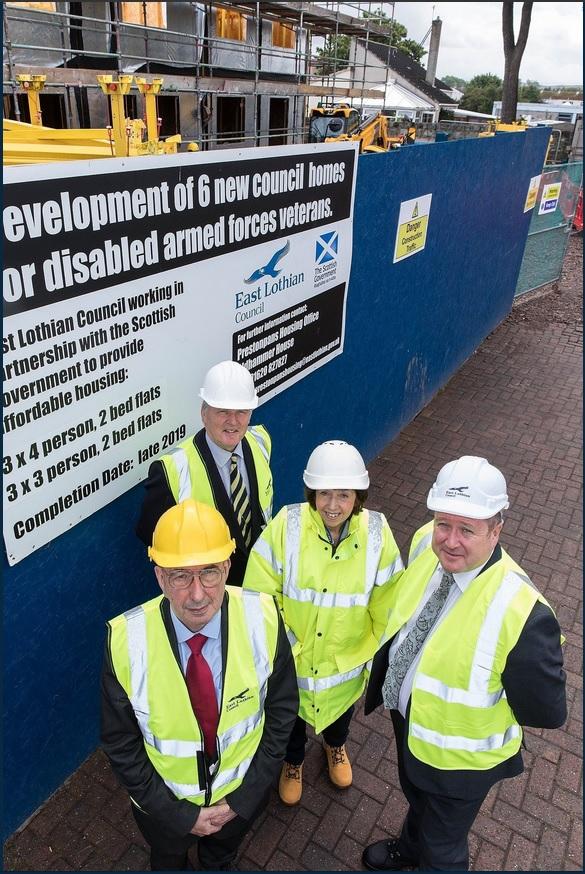 Veterans Minister Graeme Day visits housing development for disabled